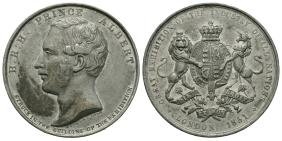 Medals - 1851 - Great Exhibition White Metal Medal
