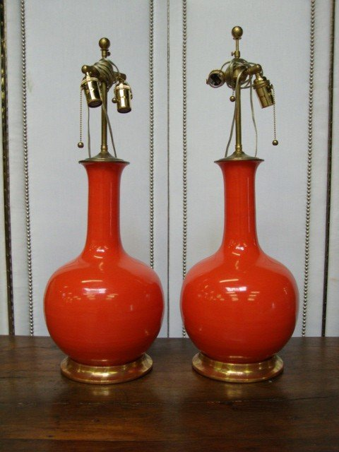 151: Pair of Christopher Spitzmiller Lamps