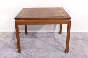 LATE QING CHINESE SQUARE HUANGHUALI STYLE TABLE