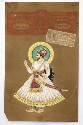 INDIAN PAINTING ON PAPER