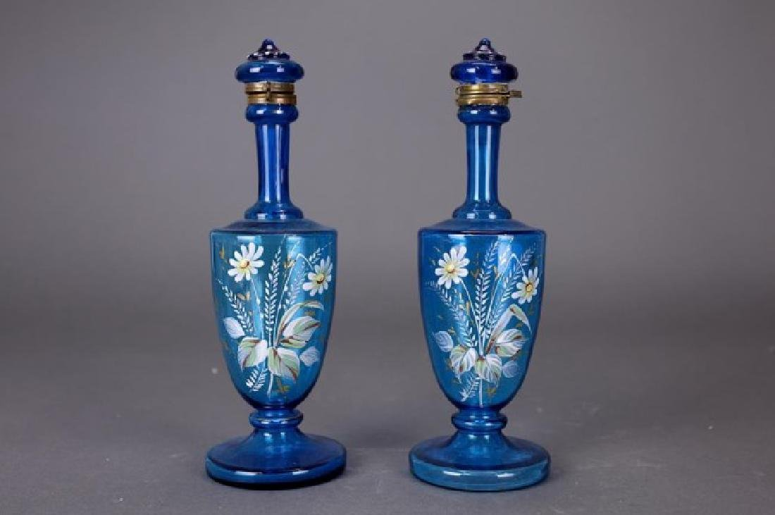 PAIR OF 19TH CENTURY ENGLISH VASES