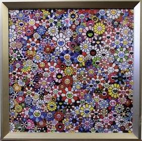 TAKASHI MURAKAMI FLOWER PRINT