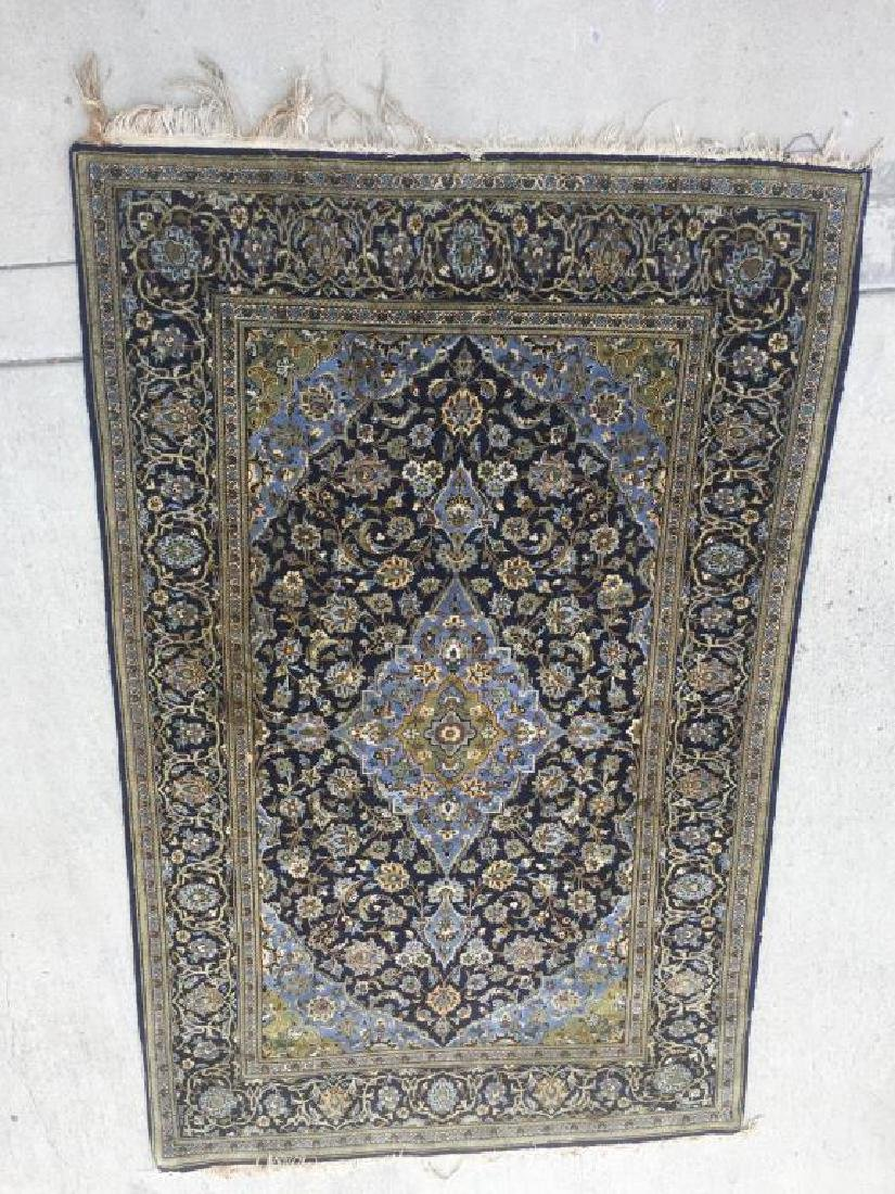 HAND MADE PERSIAN RUG MADE IN KASHAN WITH