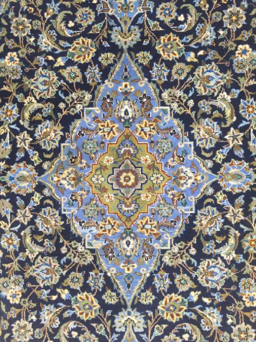 HAND MADE PERSIAN RUG MADE IN KASHAN WITH - 2