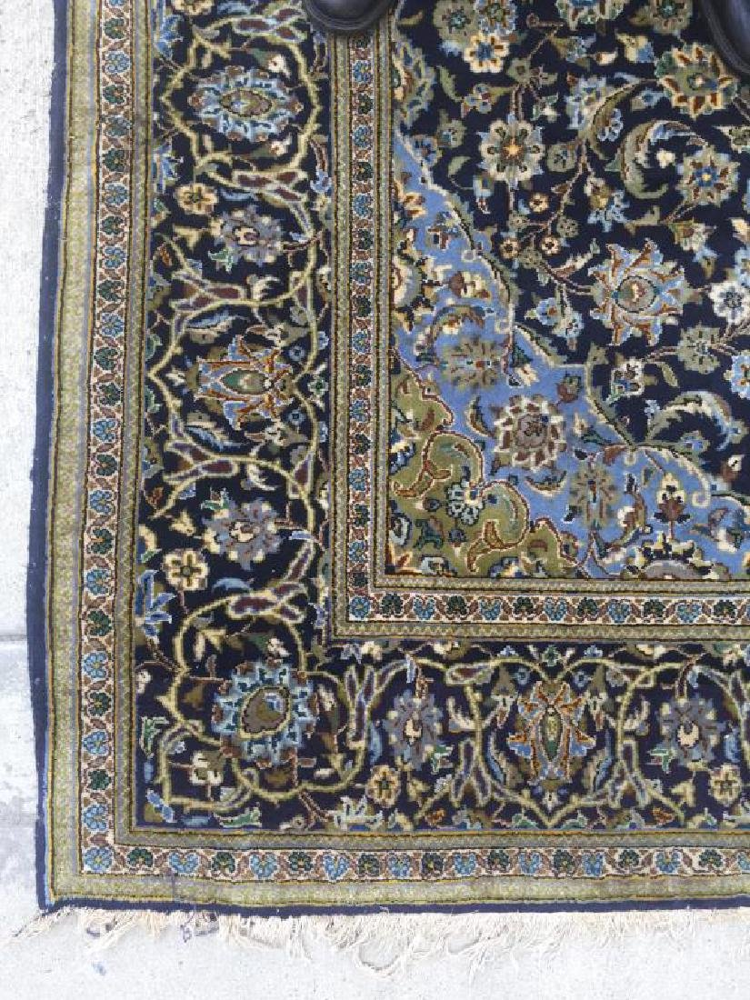 HAND MADE PERSIAN RUG MADE IN KASHAN WITH - 3