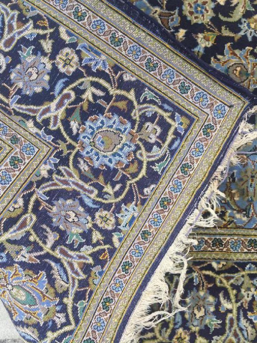 HAND MADE PERSIAN RUG MADE IN KASHAN WITH - 4