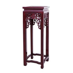 CHINESE ROSEWOOD FLOWER STAND