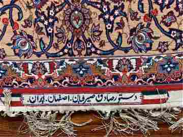 PAIR OF MAGNIFICENT LARGE PERSIAN RUGS