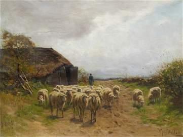 HERMAN JOHANNES VAN DER WEELE, DUTCH (1852-1930)