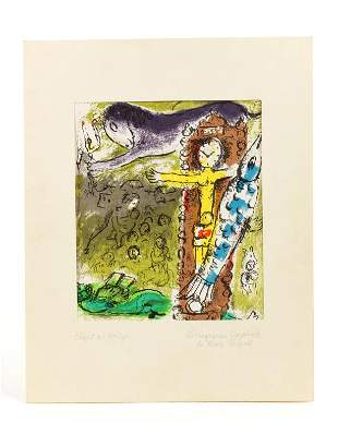 MARC CHAGALL, RUSSIAN-FRENCH (1887 - 1985)
