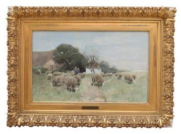 HERMAN JOHANNES VAN DER WEELE, DUTCH (1852 - 1930)