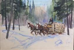 LIONEL FIELDING DOWNES, CANADIAN (1900 - 1972)