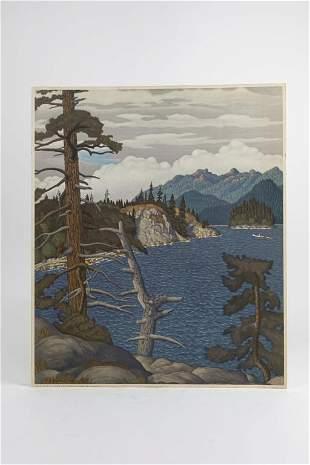 EDWARD JOHN (E.J.) HUGHES, CANADIAN (1913 - 2007)