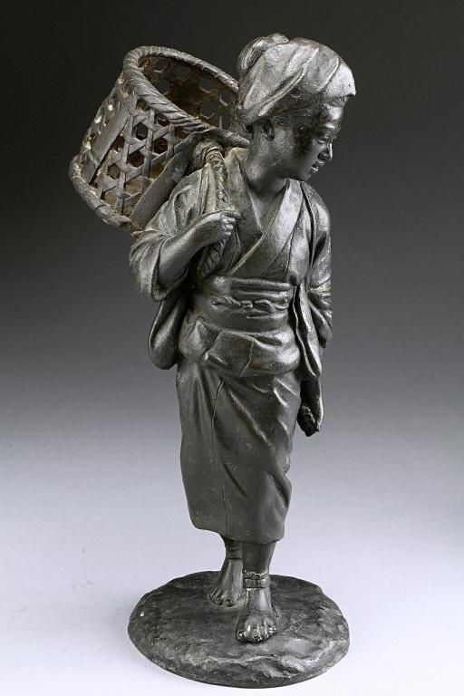 22: JAPANESE FIGURE OF AN OKIMONO