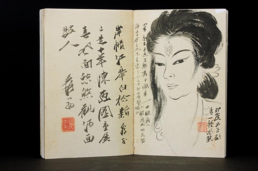 54: CHINESE BOOK OF PAINTINGS