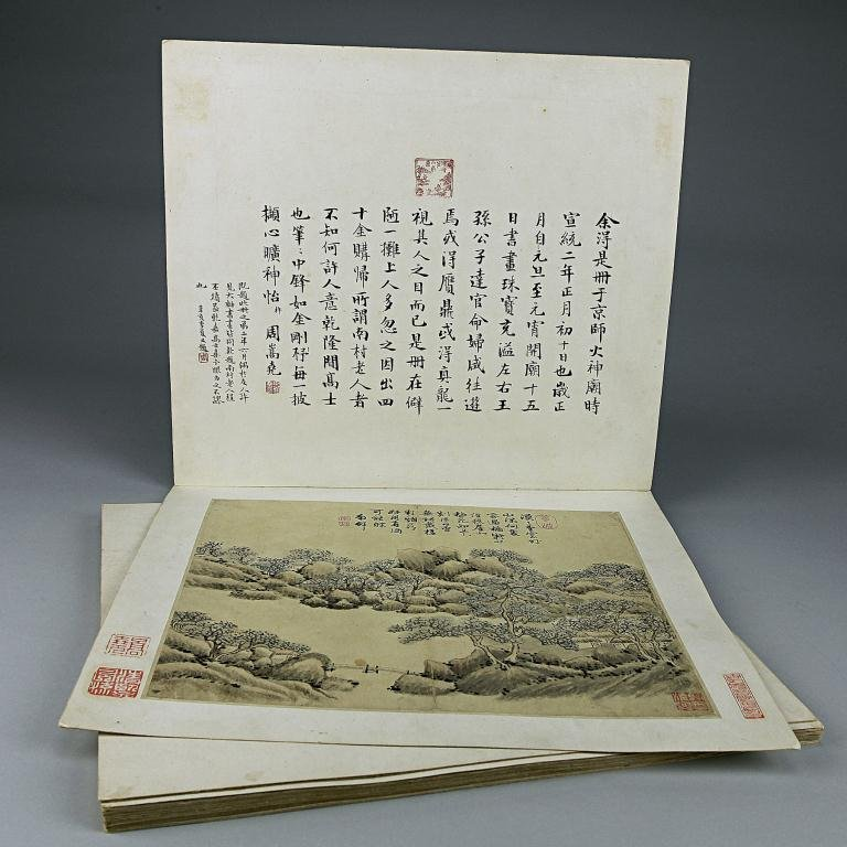 350: CHINESE PAINTING BOOKLET
