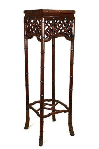 TALL CHINESE ROSEWOOD STAND