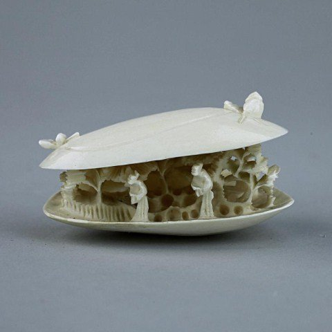 22: CARVED IVORY OF A CLAM'S DREAM