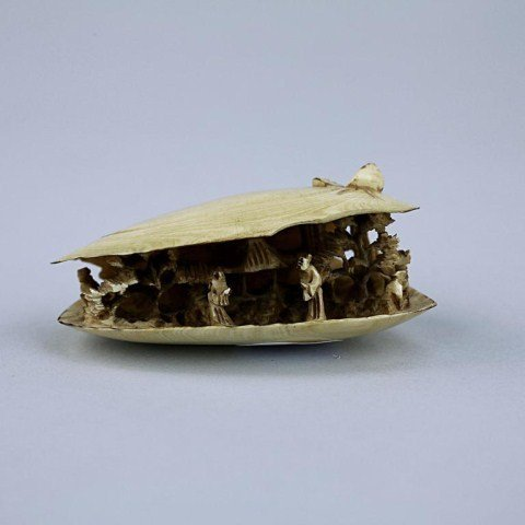 23: CARVED IVORY OF A  CLAM'S DREAM