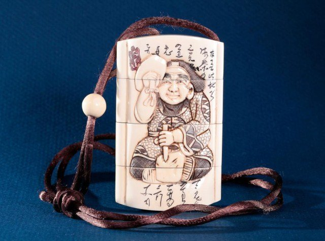 19: JAPANESE IVORY INRO