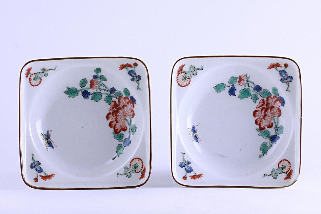 4: 18TH CENTURY JAPANESE KAKIEMON PORCELAIN DISHES