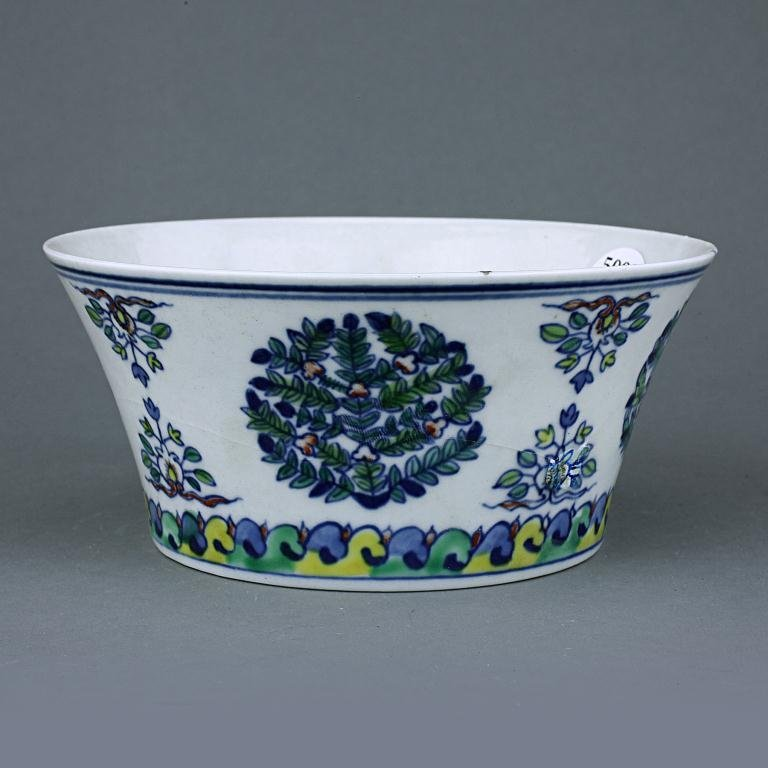 17: CHINESE DOUCAI PORCELAIN BOWL