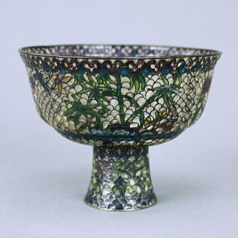 CHINESE MADE FOR ISLAMIC MARKET FOOTED BOWL