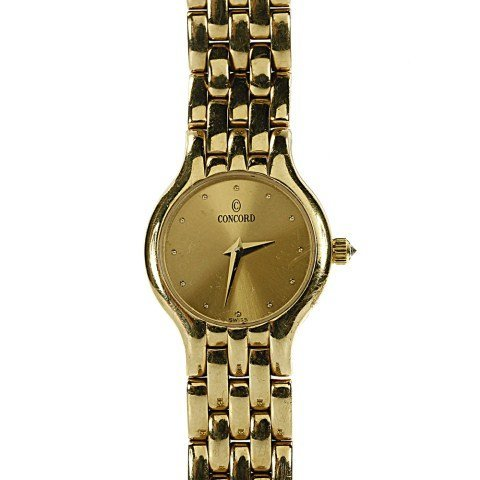 CONCORD 14K YELLOW GOLD LADIES WATCH
