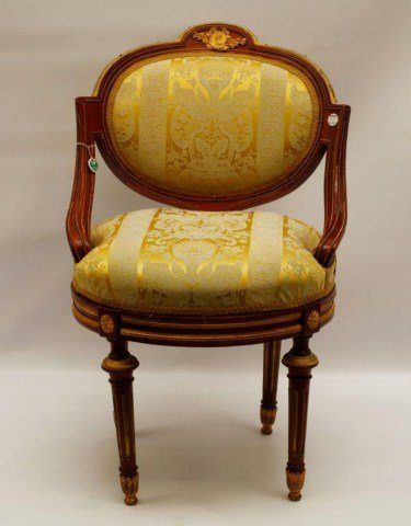 19TH CENTURY FRENCH OFFICE CHAIR