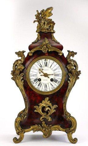 19TH CENTURY TIFFANY & CO. MANTLE CLOCK