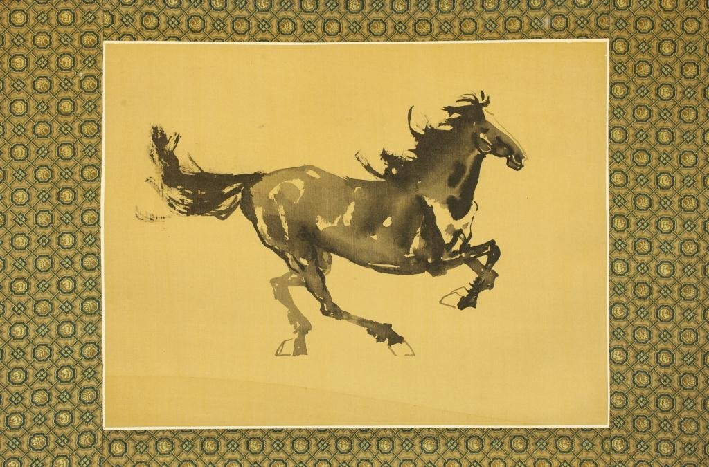 CHINESE PAINTING OF A HORSE