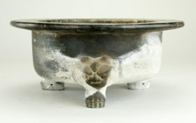 Antique Black Terracotta Washbasin