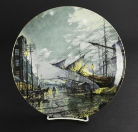 Signed Royal Doulton Collector's Maritime Plate