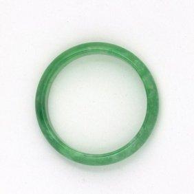 Chinese Green Jade Bangle