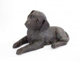 Bronze Figure Of A Labrador Puppy