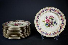 Set Of 12 Rosenthal Vienna Pattern Dinner Plates