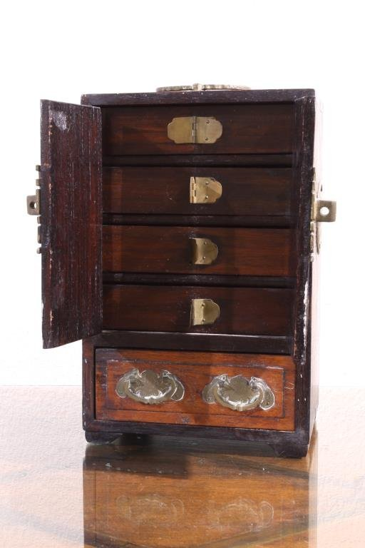 SMALL CHINESE WOODEN CABINET - 2