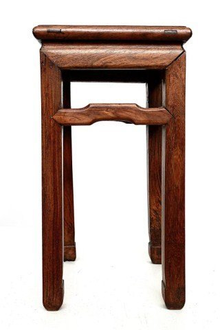ANTIQUE CHINESE CARVED WOODEN STAND - 3