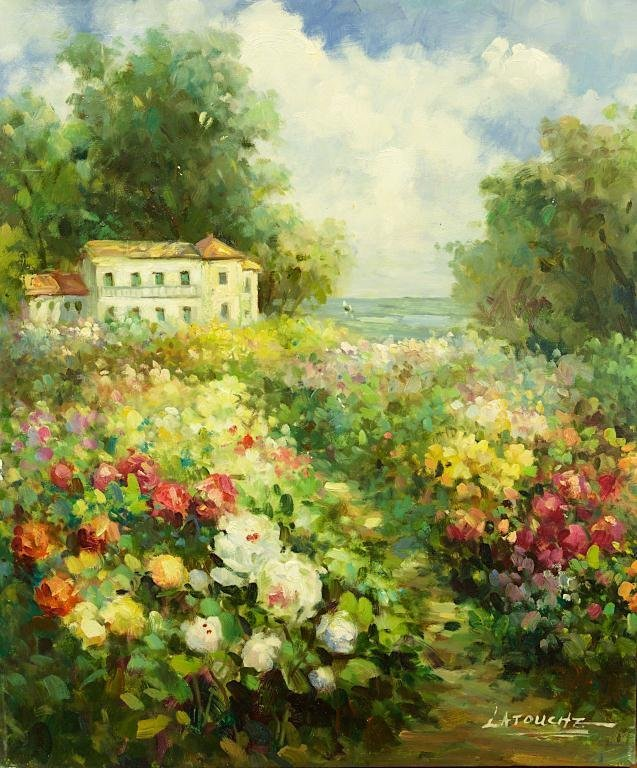 IMPRESSIONIST STYLE OIL PAINTING ON CANVAS