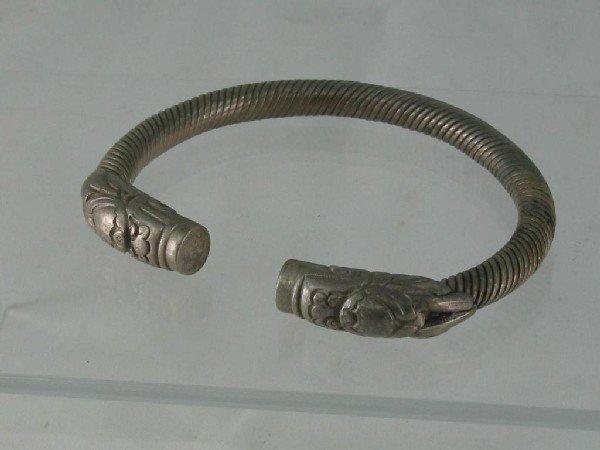 109: Bracelet, Silver, Bangle