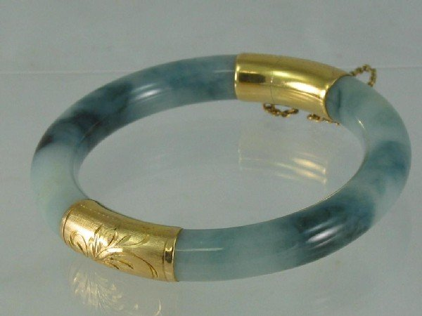117: Bracelet, Jade, Bangle