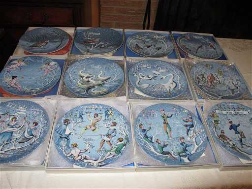 12 days of christmas plates haviland limoges