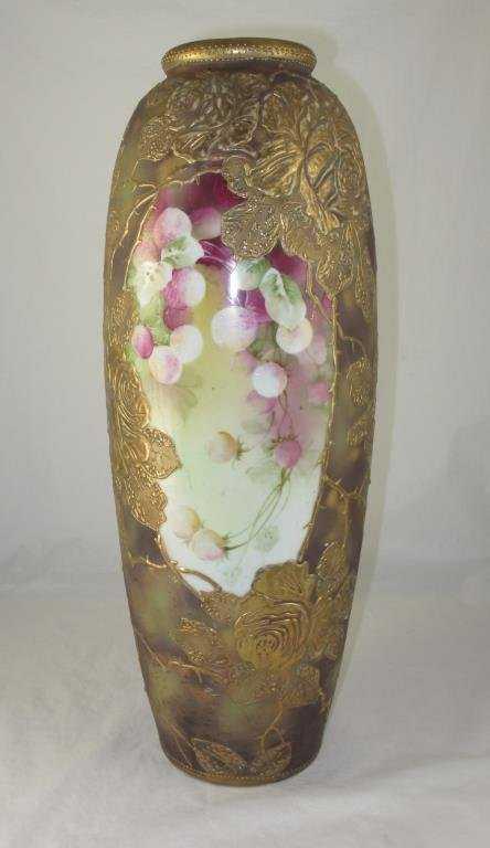 Vintage Nippon Hand Painted Vase