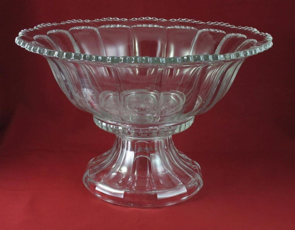 Vintage Punch Bowl & Stand