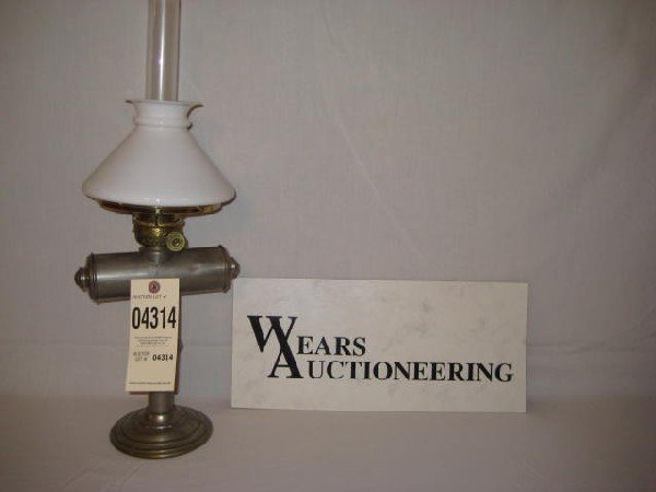 "21:  Student lamp 6"" log N/P wall/desk patent Aug 12 18"