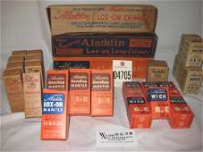 367: Aladdin lamp repalcement parts in orig boxes