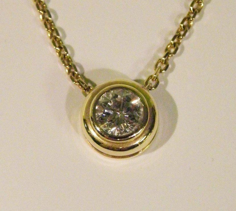 .80ct. Diamond Solitare Necklace