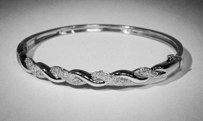 1.00ct. Bangle Bracelet