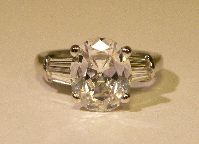 1.00ct. Platinum Diamond Mounting