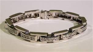 5.00ct. Mens Diamond bracelet